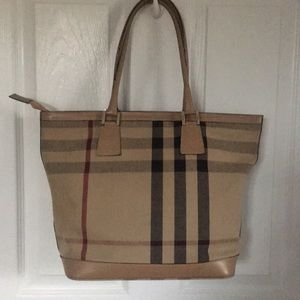 BURBERRY OF LONDON TOTE BAG